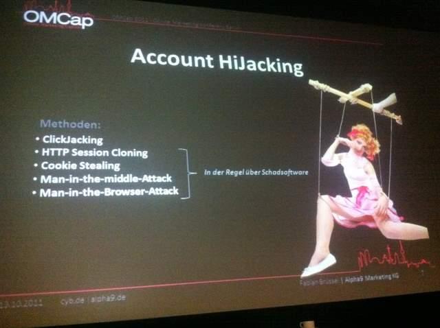 Account HiJacking