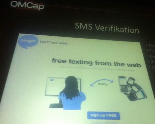 SMS Verifikation