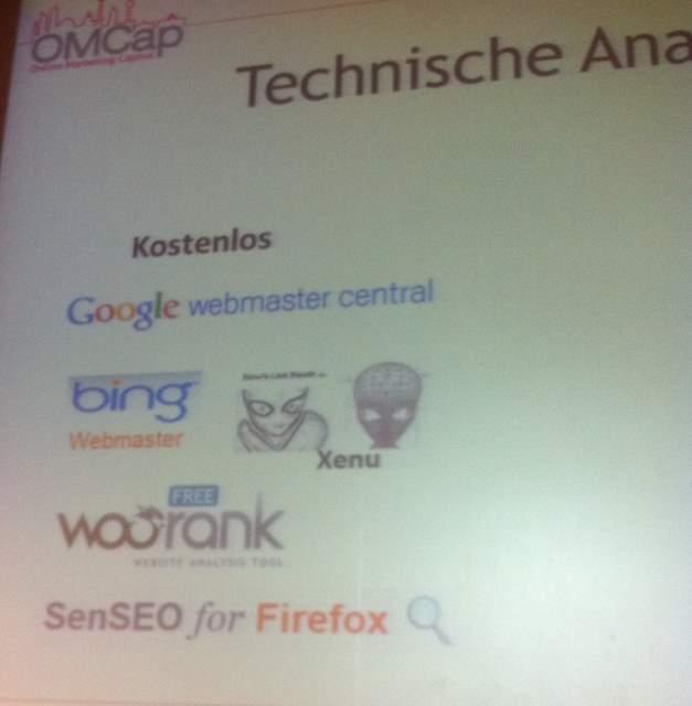 Technische Recherche Tools