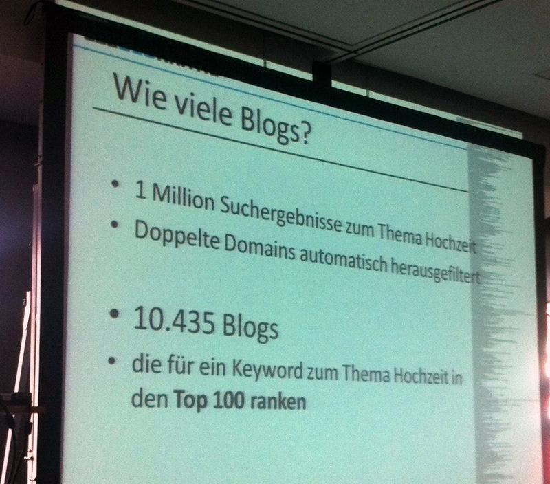 Ja es gibt viele Blogs...