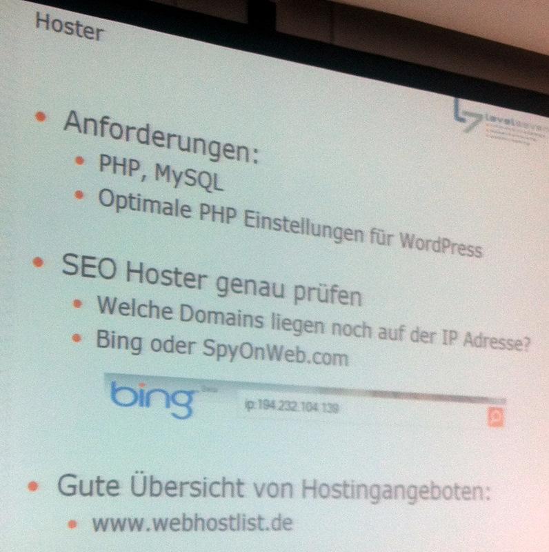 Tip: Fastbacklink mach auch SEO Webhosting: www.fastbacklink.de/ip-adressen.php