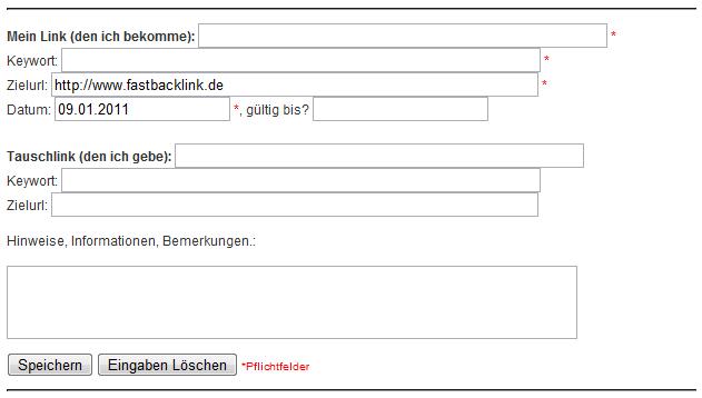 Linktausch Software, Backlink Überwachungstool