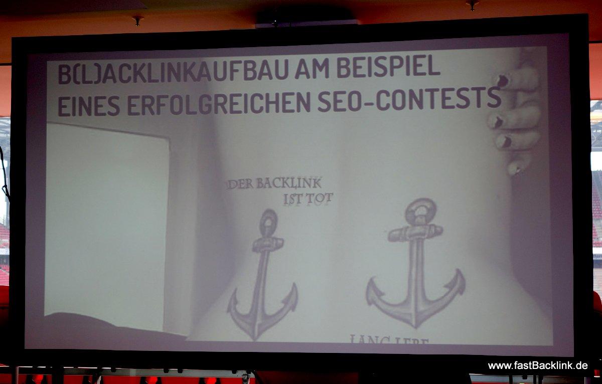 B(l)acklinkaufbau beim SEO Contest