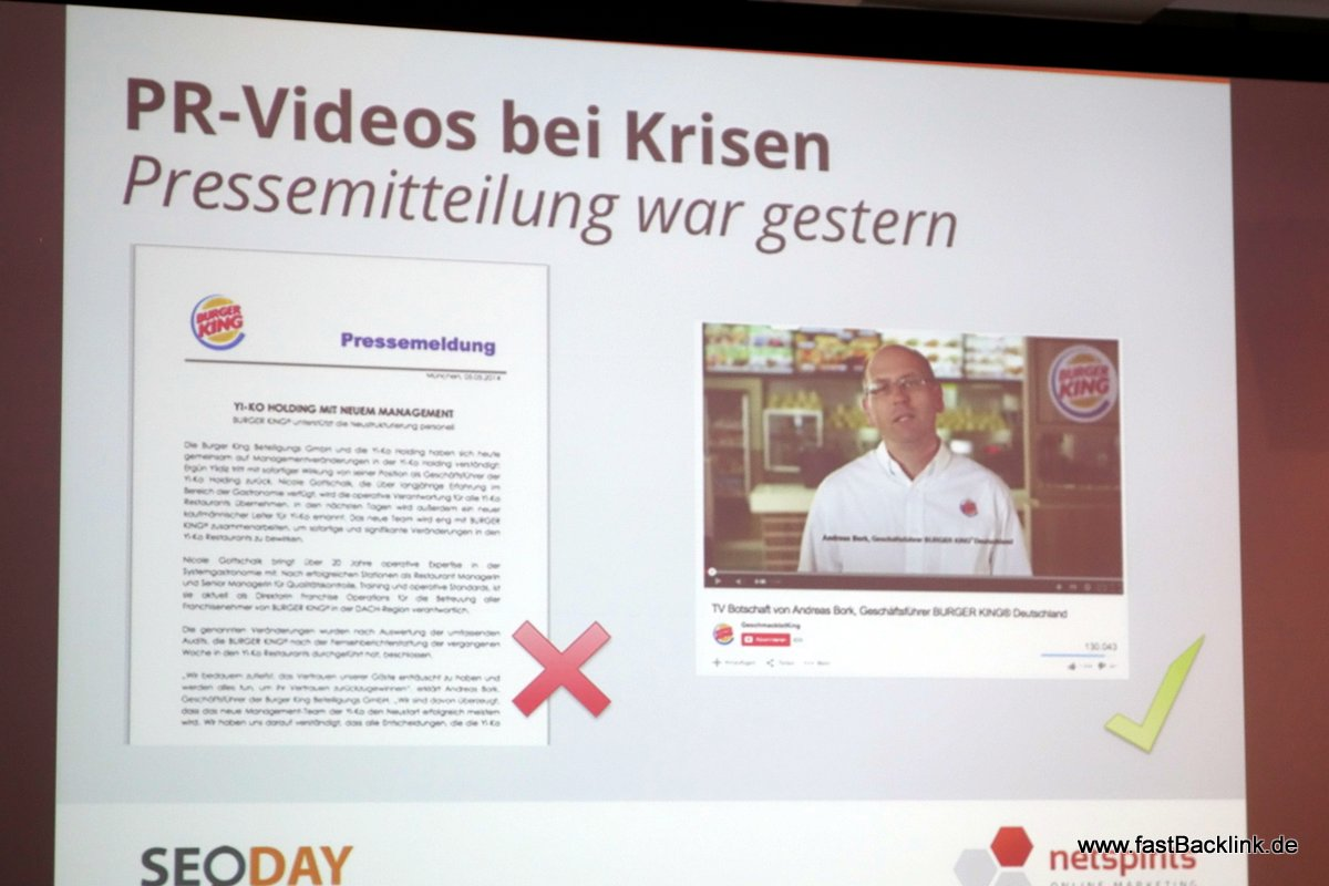 Videos bei Krisen