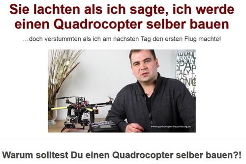 Drohnen, Quadrocopter Bauanleitung