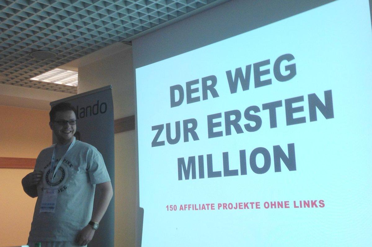 Der Weg zur ersten Million