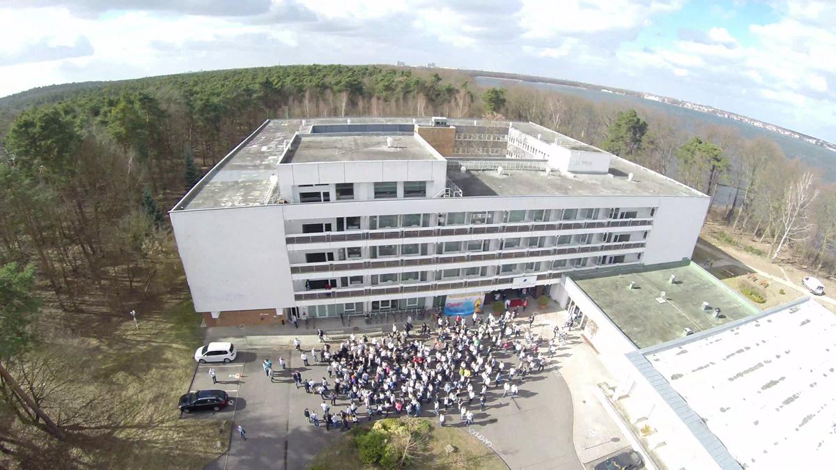 SEO Campixx 2014 Gruppenbilder Shooting aus der Luft