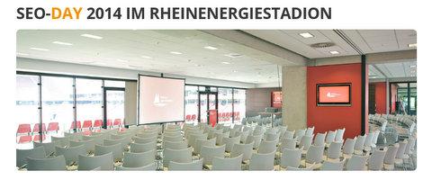 SEO Day 2014 im Rheinenergiestadion in Köln - SEO Day Recap