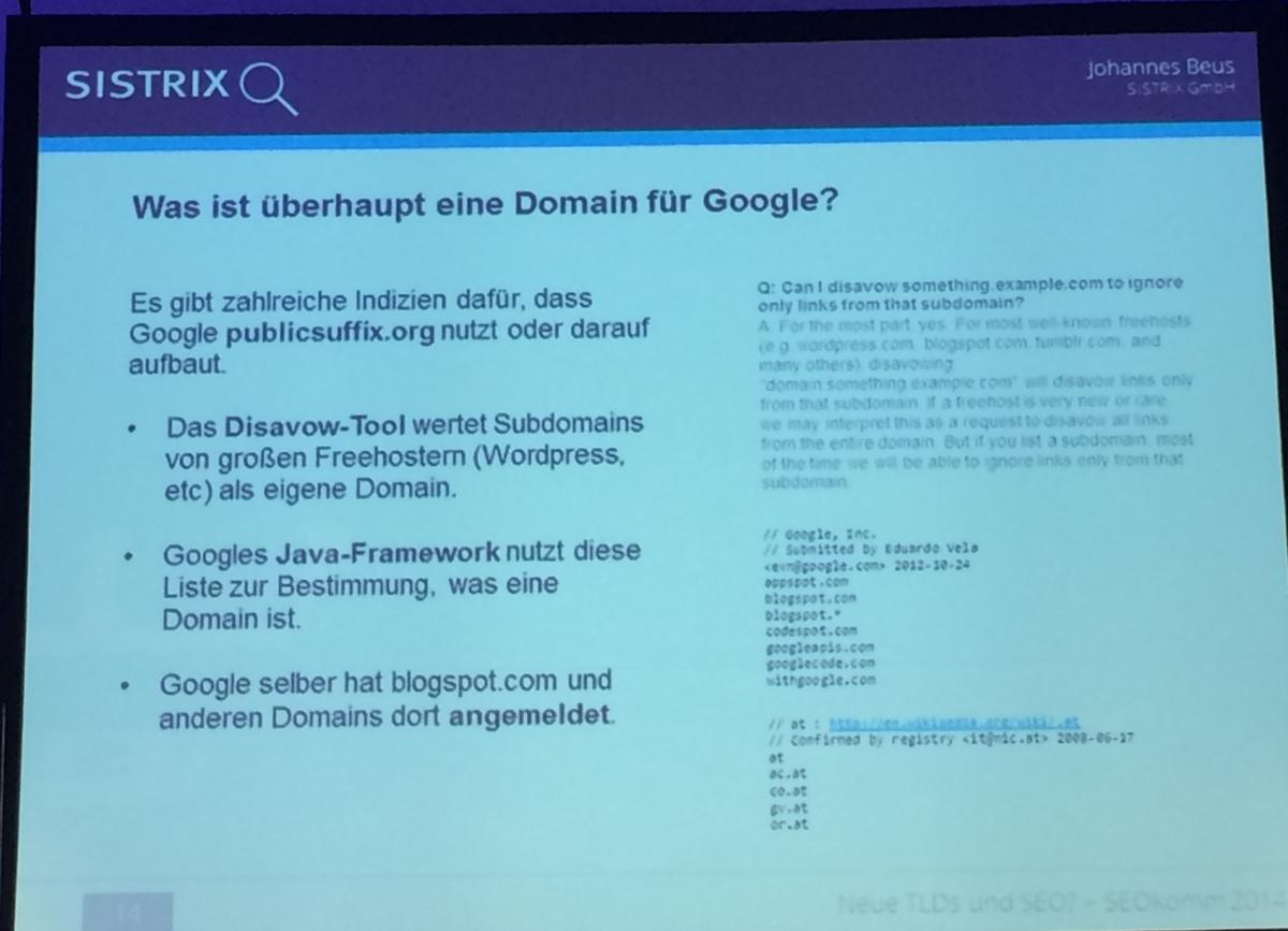 Was ist eine Domain für Google?